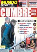 Portada Mundo Deportivo del 30 de Mayo de 2012