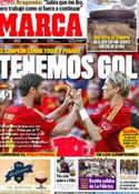 Portada diario Marca del 31 de Mayo de 2012