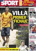 Portada diario Sport del 31 de Mayo de 2012