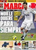 Portada diario Marca del 1 de Junio de 2012