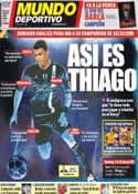 Portada Mundo Deportivo del 1 de Junio de 2012