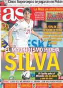 Portada diario AS del 2 de Junio de 2012