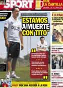 Portada diario Sport del 2 de Junio de 2012