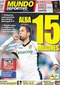 Portada Mundo Deportivo del 2 de Junio de 2012