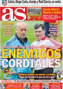 Portada diario AS del 3 de Junio de 2012