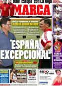 Portada diario Marca del 3 de Junio de 2012