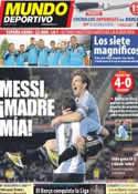 Portada Mundo Deportivo del 3 de Junio de 2012