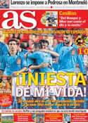 Portada diario AS del 4 de Junio de 2012
