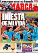 Portada diario Marca del 4 de Junio de 2012