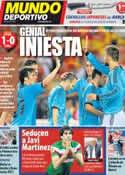 Portada Mundo Deportivo del 4 de Junio de 2012