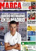Portada diario Marca del 5 de Junio de 2012