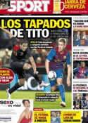 Portada diario Sport del 5 de Junio de 2012