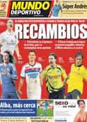 Portada Mundo Deportivo del 5 de Junio de 2012