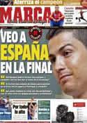 Portada diario Marca del 6 de Junio de 2012