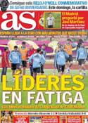 Portada diario AS del 7 de Junio de 2012