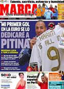 Portada diario Marca del 7 de Junio de 2012