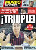 Portada Mundo Deportivo del 7 de Junio de 2012