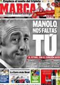 Portada diario Marca del 8 de Junio de 2012