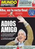 Portada Mundo Deportivo del 8 de Junio de 2012