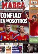 Portada diario Marca del 9 de Junio de 2012