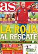 Portada diario AS del 10 de Junio de 2012