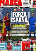 Portada diario Marca del 10 de Junio de 2012