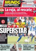 Portada Mundo Deportivo del 10 de Junio de 2012