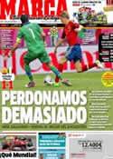 Portada diario Marca del 11 de Junio de 2012