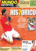 Portada Mundo Deportivo del 12 de Junio de 2012
