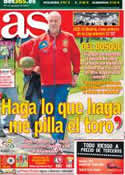 Portada diario AS del 13 de Junio de 2012
