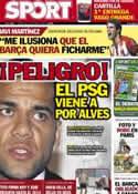 Portada diario Sport del 13 de Junio de 2012