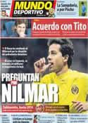 Portada Mundo Deportivo del 13 de Junio de 2012