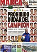 Portada diario Marca del 14 de Junio de 2012