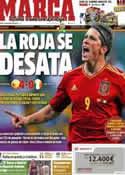 Portada diario Marca del 15 de Junio de 2012