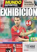 Portada Mundo Deportivo del 15 de Junio de 2012