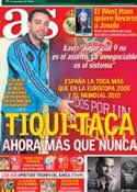 Portada diario AS del 17 de Junio de 2012