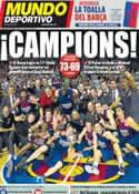 Portada Mundo Deportivo del 17 de Junio de 2012