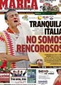 Portada diario Marca del 18 de Junio de 2012
