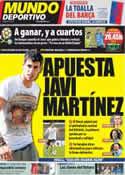 Portada Mundo Deportivo del 18 de Junio de 2012