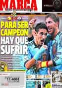 Portada diario Marca del 19 de Junio de 2012