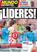 Portada Mundo Deportivo del 19 de Junio de 2012