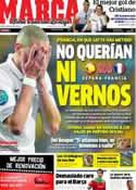 Portada diario Marca del 20 de Junio de 2012