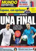 Portada Mundo Deportivo del 20 de Junio de 2012