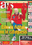 Portada diario AS del 21 de Junio de 2012