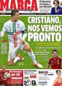 Portada diario Marca del 22 de Junio de 2012
