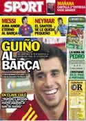 Portada diario Sport del 22 de Junio de 2012