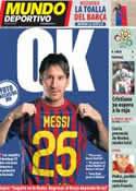 Portada Mundo Deportivo del 22 de Junio de 2012