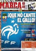 Portada diario Marca del 23 de Junio de 2012