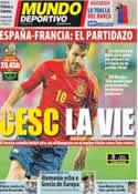 Portada Mundo Deportivo del 23 de Junio de 2012