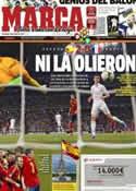 Portada diario Marca del 24 de Junio de 2012